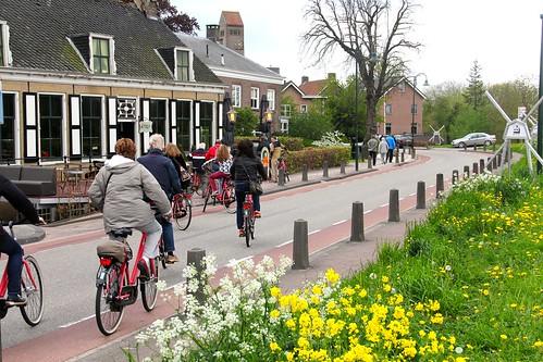 De Amsterdam a Kinderdijk