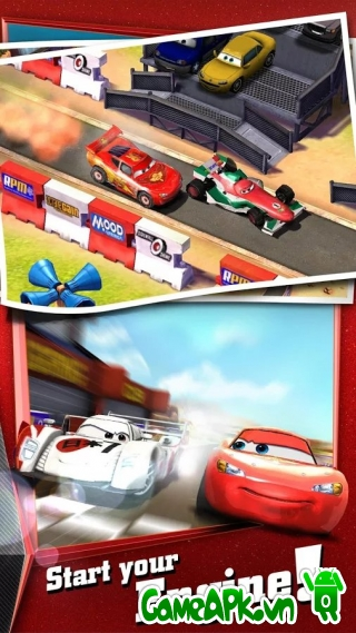 Cars: Fast as Lightning v1.3.3b hack full cho Android
