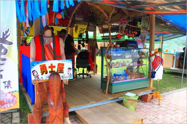 【嘉義阿里山旅遊】逐鹿彩繪社區~原民彩繪屋市集《13遊記》