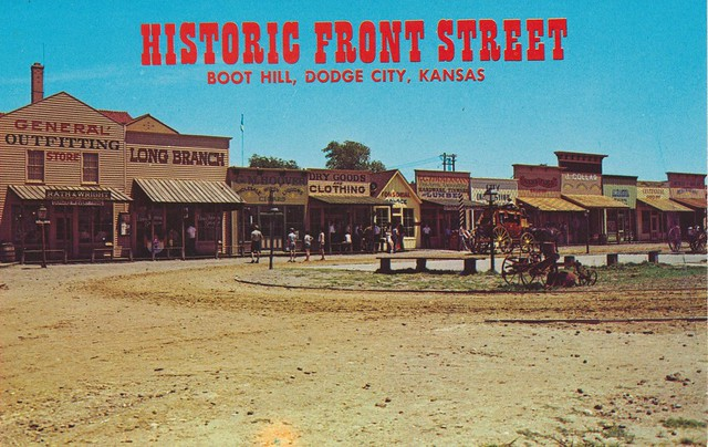 Historic front street dodge city kansas flickr photo sharing for Garden city ks movies