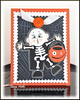 Mini Monster Halloween Card