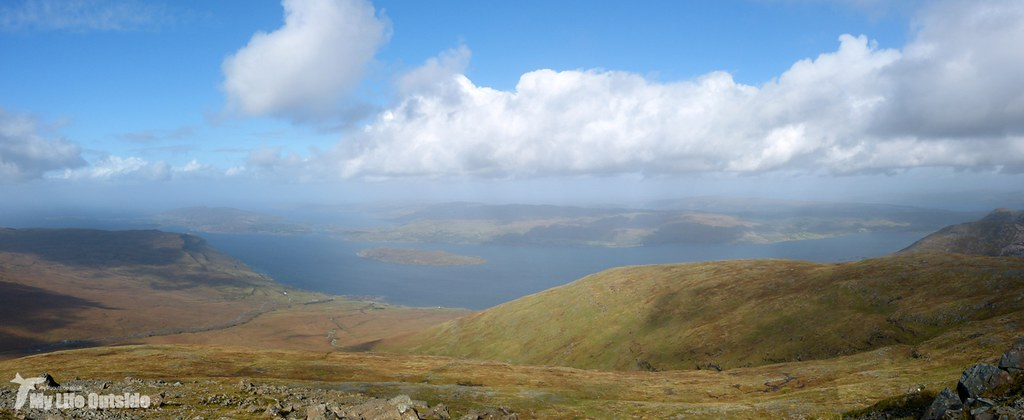 Climbing Ben More, Isle of Mull