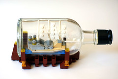 Lego in the Bottle