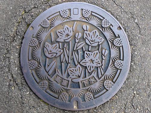 Takatomi Gifu, manhole cover (岐阜県高富町のマンホール)