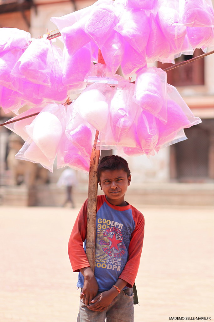 on the street, Bhaktapur (nepal).