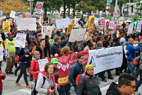 Ferguson October: March against police violence