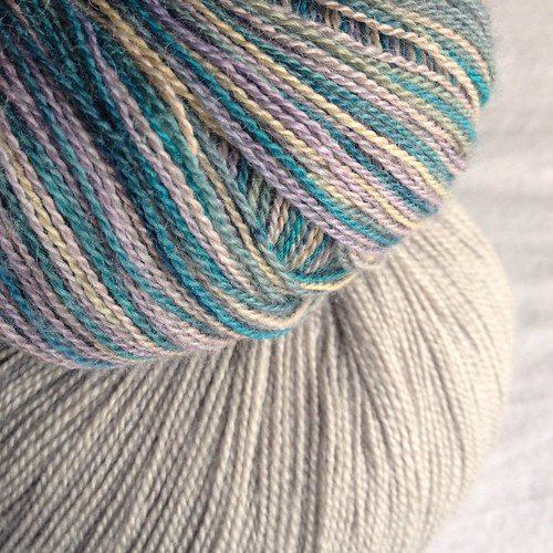 Classic Elite Silky Alpaca Lace & Cascade Yarns Forest Hills