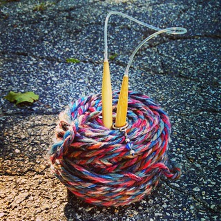 Day 26 #SoakPhotoChallenge Gift  Soon to be turned into a cute little hat to keep a special little noggin warm this winter! #berroco #knitstagram #knitting