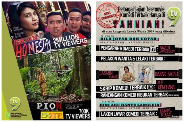 TV9 Mendapat Periktirafan Penonton