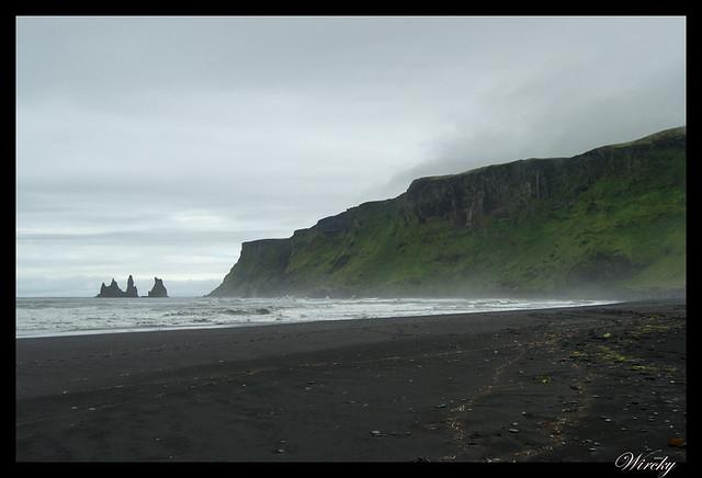 Islandia Vík Eldhraun Skaftafellsjökull Svartifoss Jökulsárlon - Monte Reynisfjall desde Vík