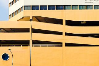 Colourful Vivid Vintage Urban Architecture