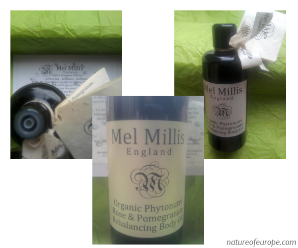 Mel Millis Phytonutri Rose & Pomegranate Rebalancing Body Oil Review