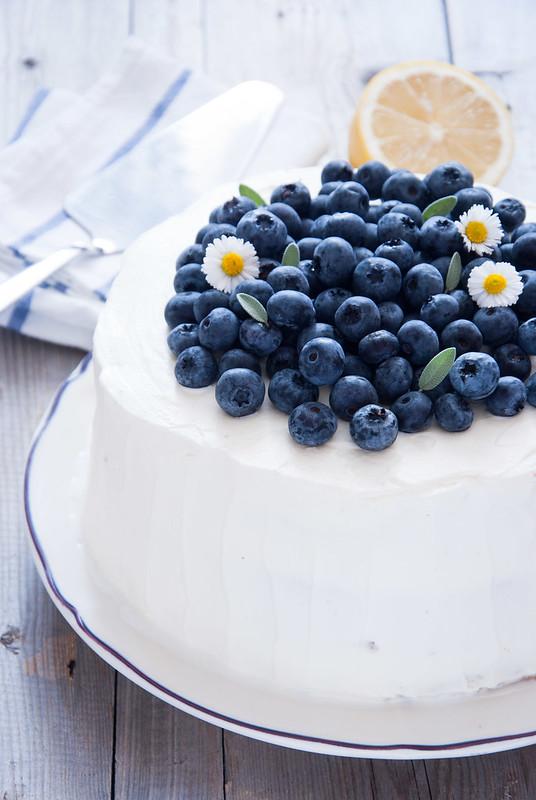 Рецепты торта с голубикой
