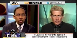 Stephen A. Smith's Ray Rice comments bring controversy to campus appearance
