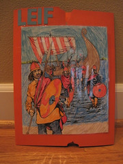 Leif Erickson Lapbook Cover