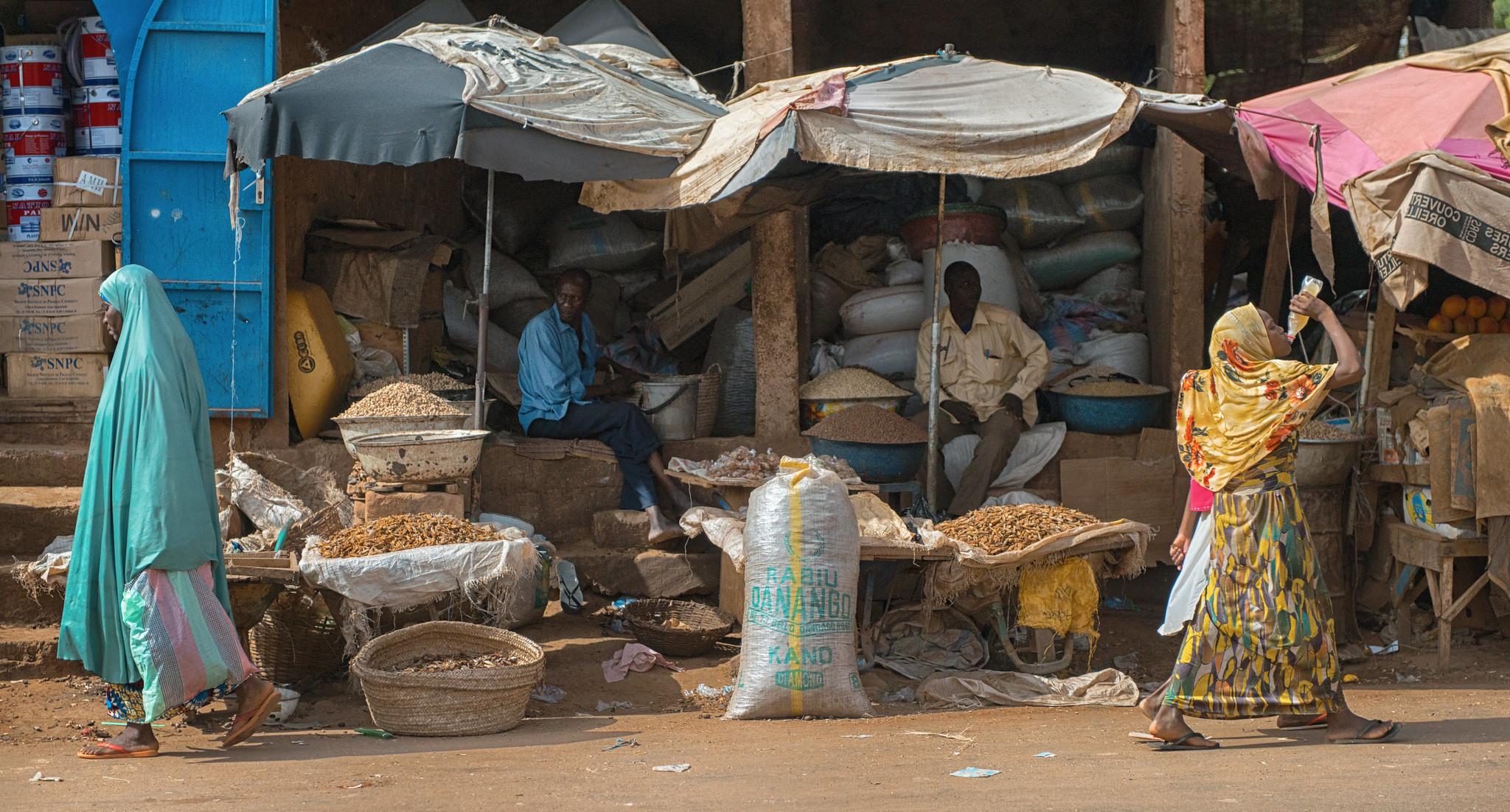 Niamey Street Vendors
