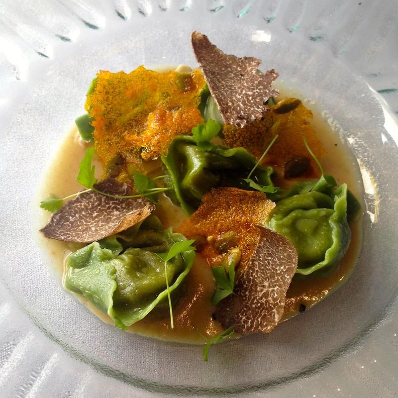 il LIdo_Pumpkin Tortellini with Truffle Bagna Cauda