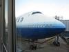747 in blue