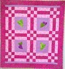 Welcome to the World Ava Marie Greenwood!, 40x42 inch baby quilt, 2014