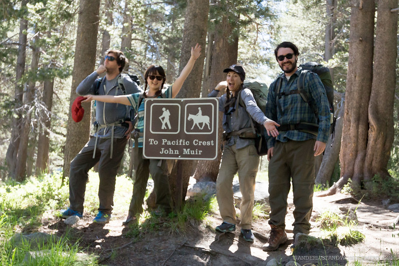 Our intrepid crew of quasi-mountaineers