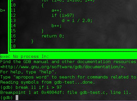 How to debug a C/C++ program with GDB command-line debugger