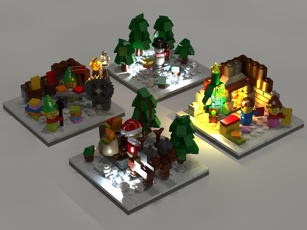 4000013 Lego Otaku build _Nachapon render
