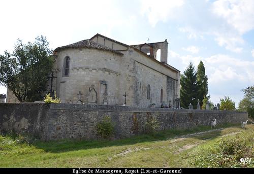 Monseyrou, petit hameau au nord du Lot-et-Garonne