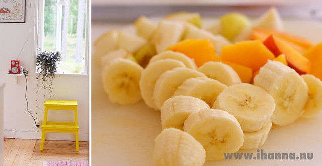 Bright Yellow Fruit Salad