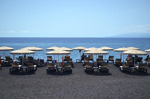 Sunshine in Alcala, Tenerife