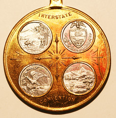 Bituminous Coal Miners medal reverse