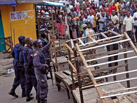 LIberia Ebola Death Camps August 2014