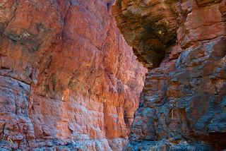 Knox Gorge colours