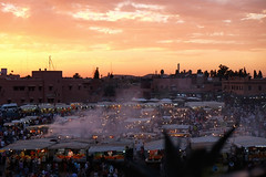 .sunset @ Place Jemaa el Fnà |3