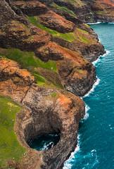 Open Ceiling Sea Cave, Kauai