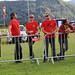 F5D Austrian team (orange tshirts) watching F5B flights