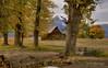 Mormon Barn in Fall Colors