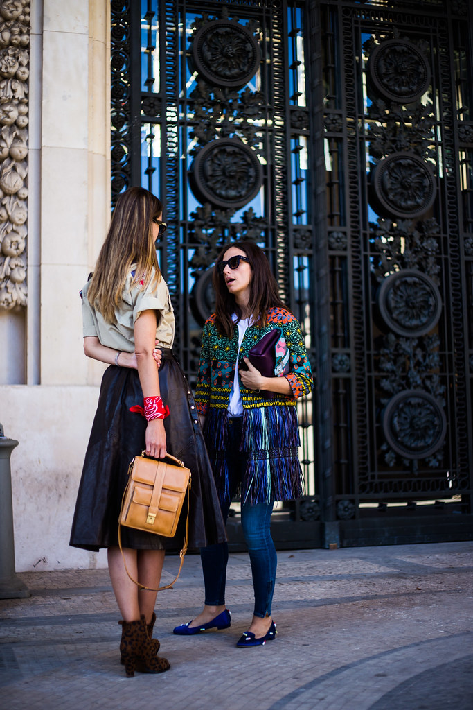 Street Style - Clara Racz & Erika Boldrin, Paris Fashion Week