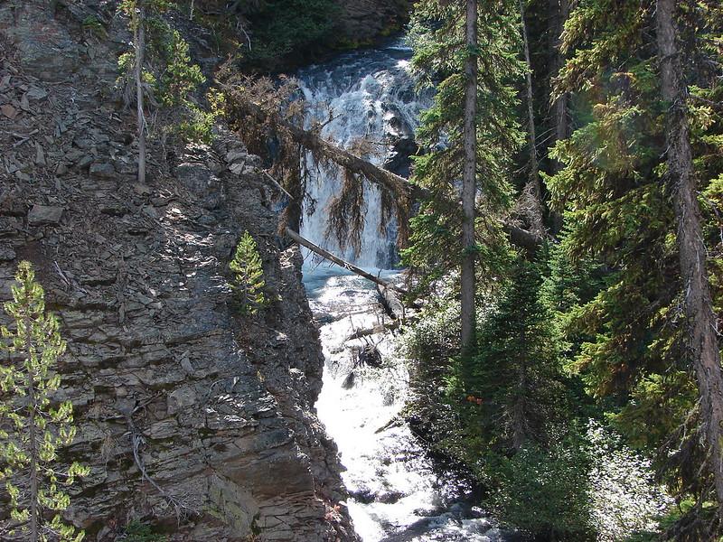 Middle Park Creek Falls