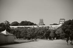 Akashi Castle: Leica M + Canon FDn 35-105 (29 Sept. 2014)