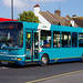 Arriva Kent Thameside DAF SB120 / Wright Cadet 3531 , LF02 PNL on Versa route 1, with defective indicator display