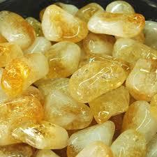 Imagen de varios cristales Citrino
