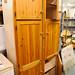 Whole pine kitchen