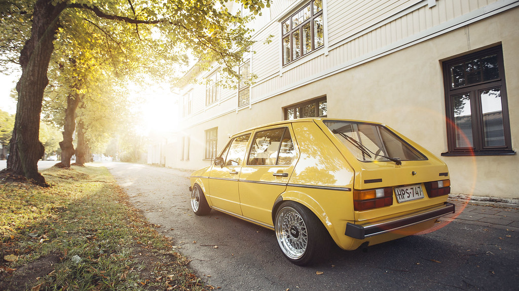 Tiku: VW Mk1 golf 5D 15414020862_7efa9b18c4_b