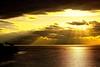 beautiful sunset/cloudy skies.