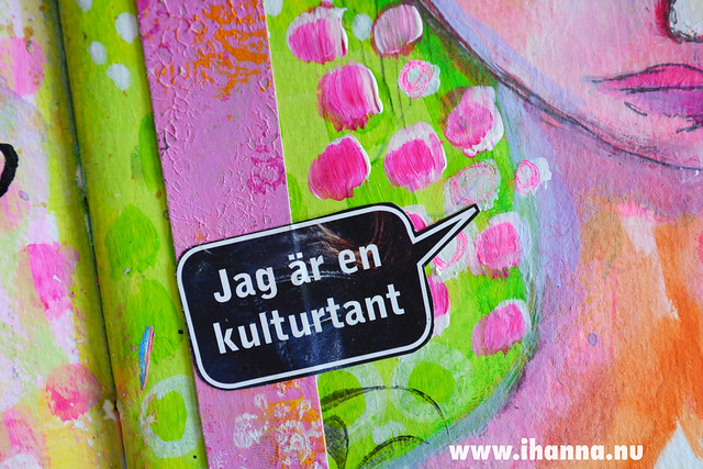 Art Journal detail: Kulturtant