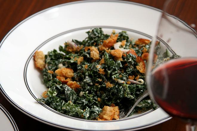 kale caesar salad 5