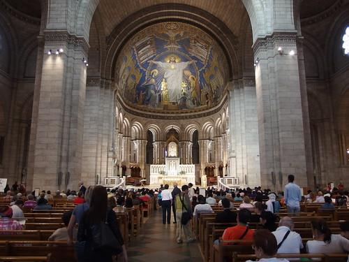 Basilique du Sacré-Coeur @ Montmartre @ Paris