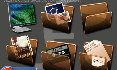 Heroes Folder Dock Icons