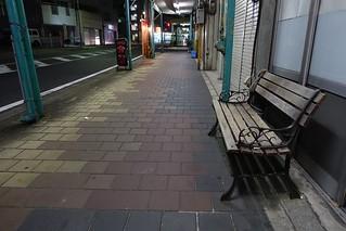 Night scene of commuting 2014/10 No.1.