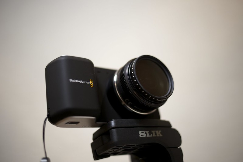 Blackmagic Pocket Cinema Camera + Panasonic 14mm f2.5